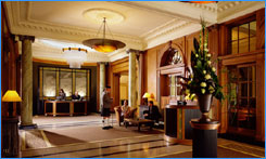 Gleneagles Hotel Reception